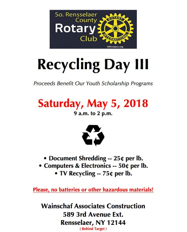 SRC Recycling Flyer