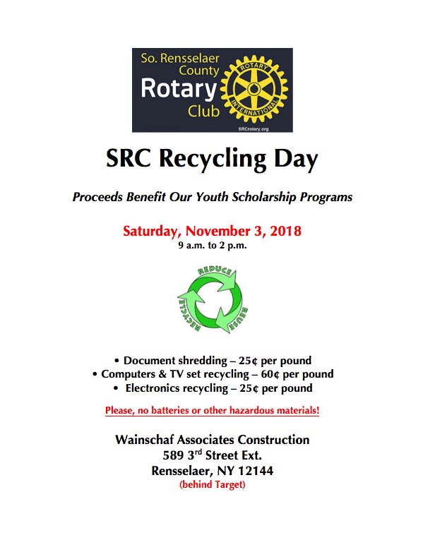 2018 Recycling Flyer revised