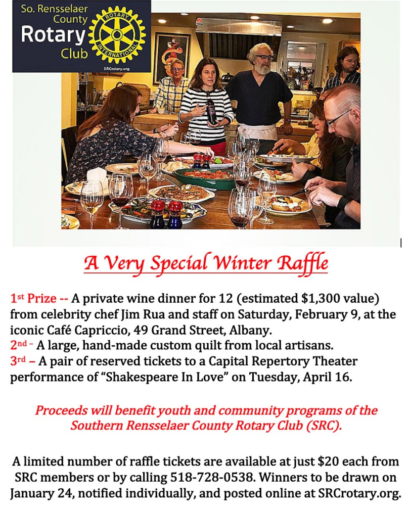 January SRC Raffle