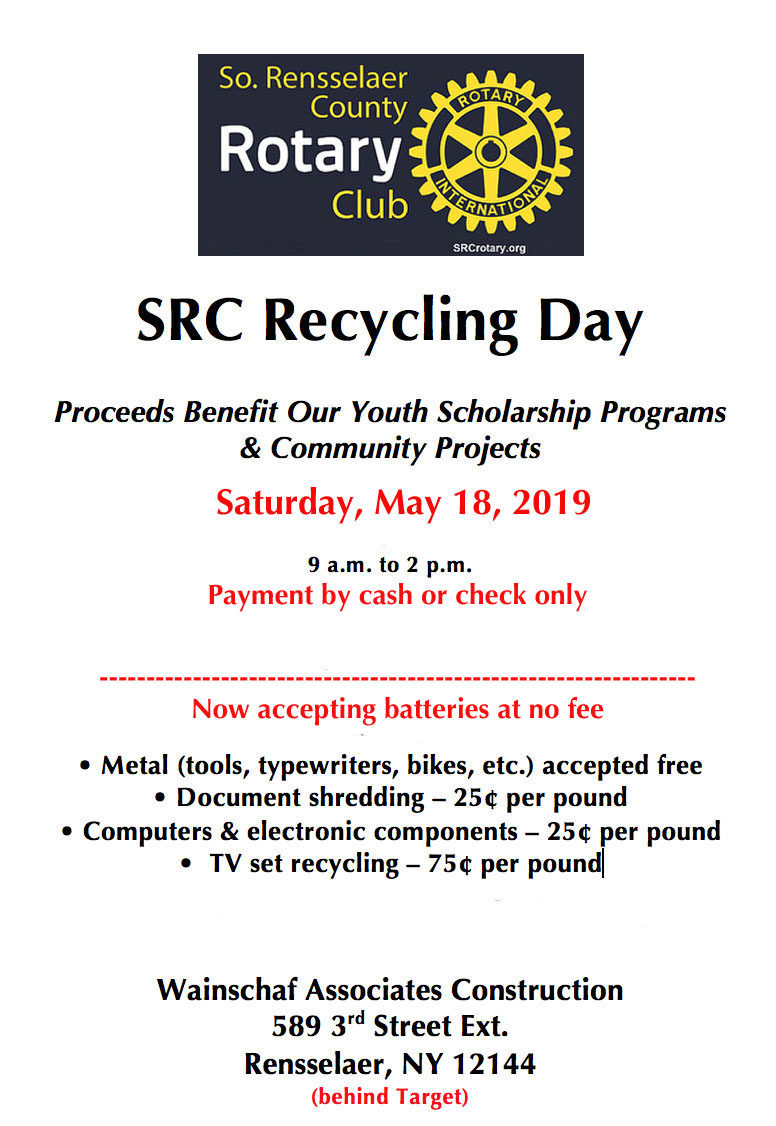 May 2019 Recycling Flyer
